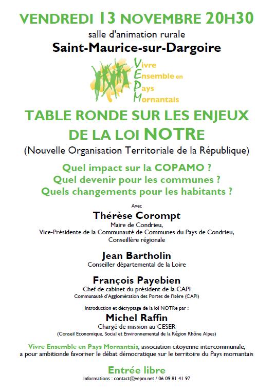 Novembre 2015 vepm - La table ronde vinon sur verdon ...