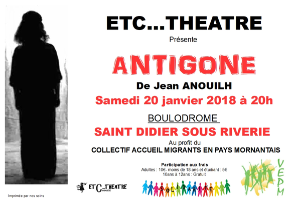Affiche - spectacle 20 janv