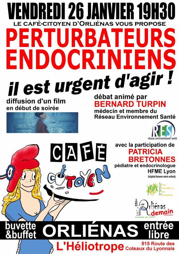 Café citoyen Perturbateurs endocriniens
